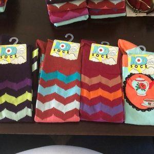 Funky MOD socks women's knee high one size